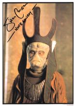 Silas Carson Autograph Signed Photo - Nute Gunray
